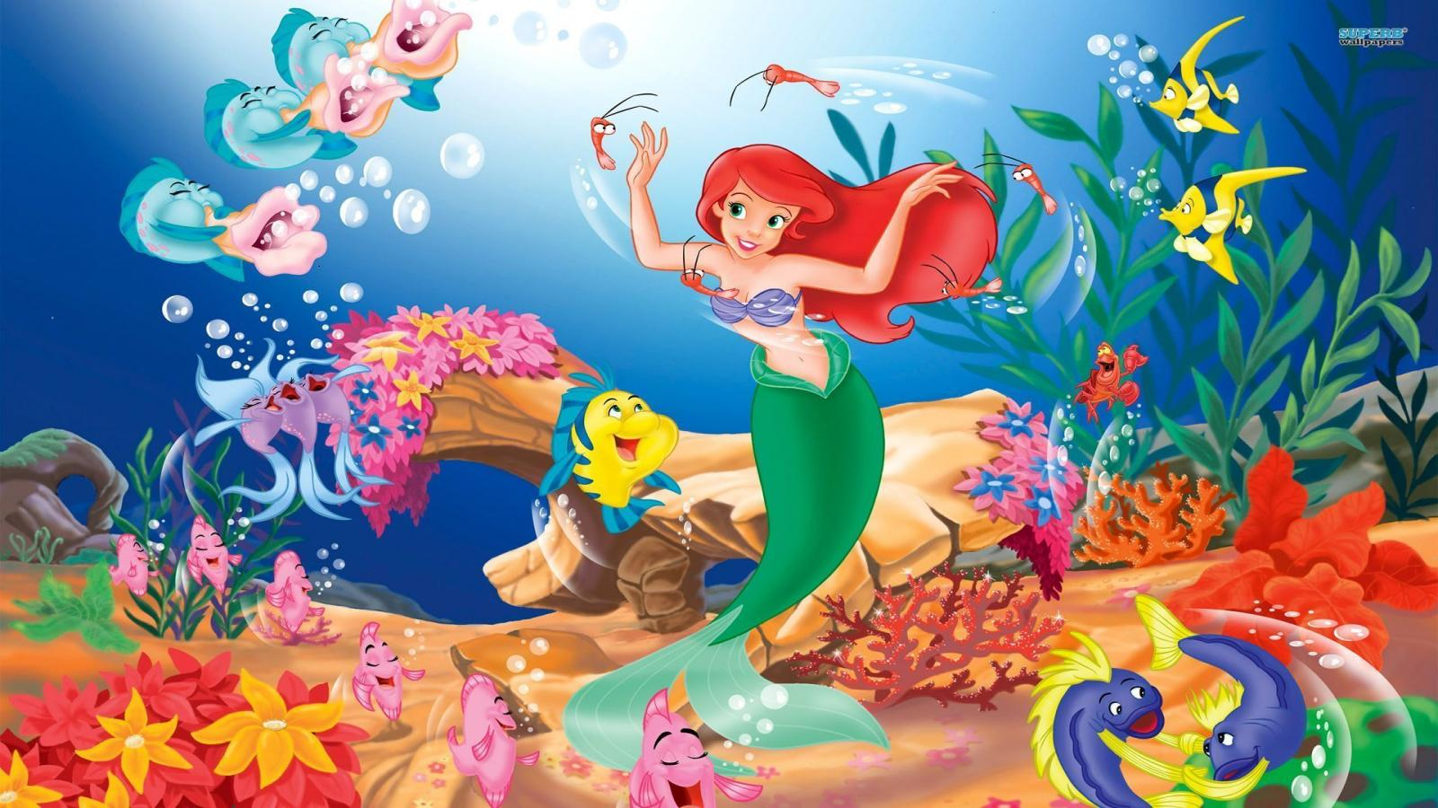 Under the sea (from The Little Mermaid)